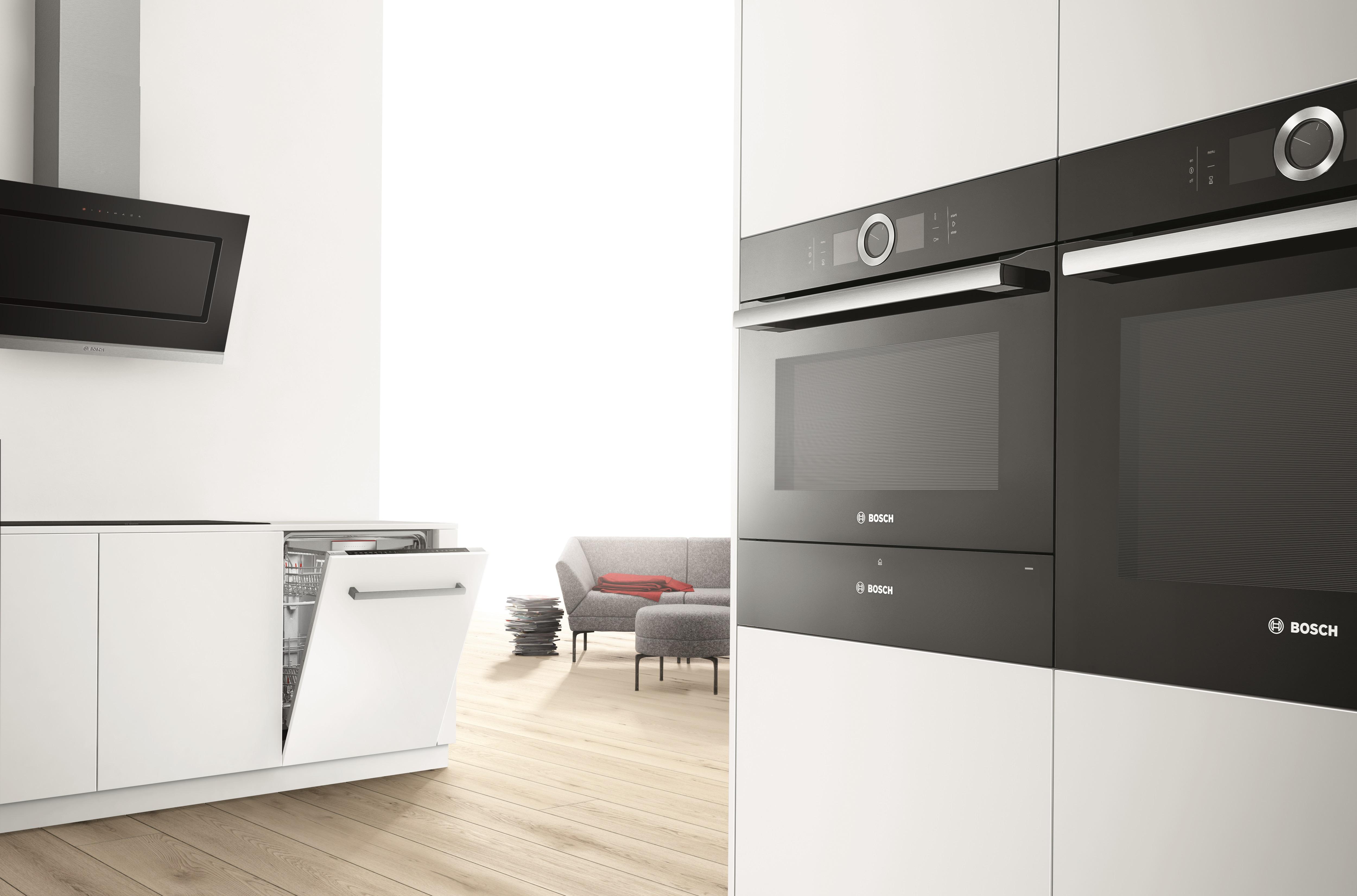 Gemütlich Küche Mit Schwarzen Geräten Bilder - Ideen Für Die Küche ...