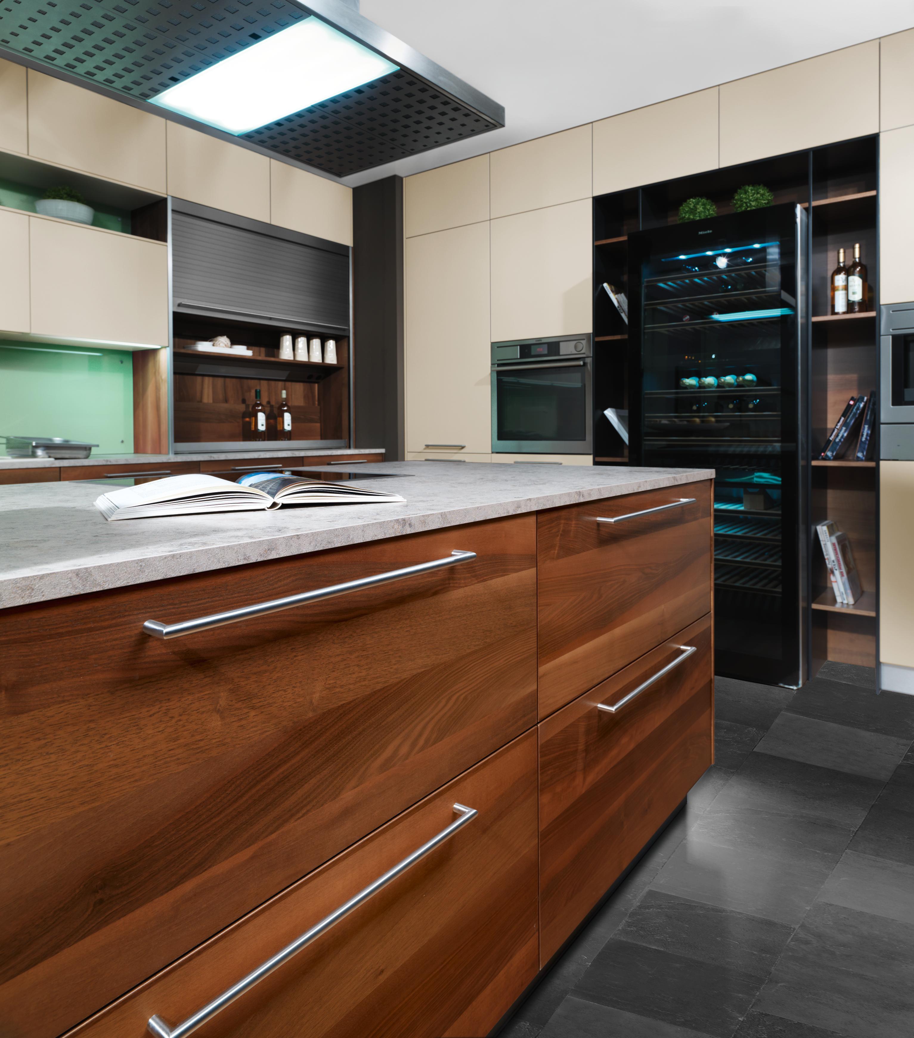 Küche Mit Weinkühlschrank: Luxus