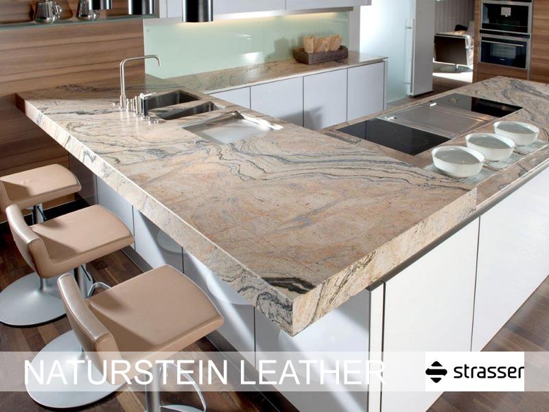 Tiroler Kuchenstudio Arbeitsplatten Naturstein