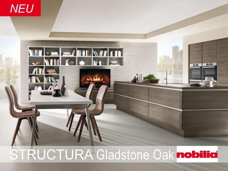 Tiroler Küchenstudio | NOBILIA KÜCHEN MODELL STRUCTURA gladstone / oak | {Küchenmodelle 25}