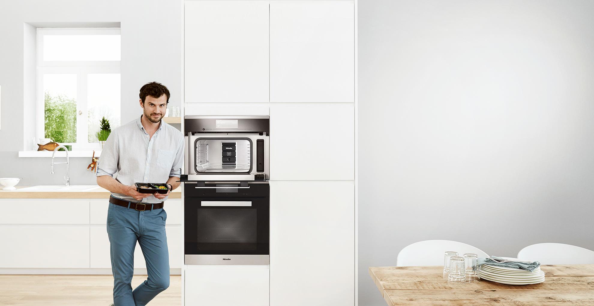Tiroler Küchenstudio | MIELE DGM 6800 Dampfgarer mit Mikrowelle
